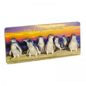 3D-Wood-Panoramic-Penguin-Sunset